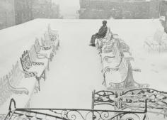 The Roof, New York City, 1949, Gelatin silver print, printed c. 1949