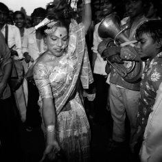 Eunuch Festival Dancer, Calcutta, India, 1982