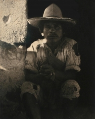 Paul Strand - Man, Ixmaquiepan, Mexico, 1933 | Bruce Silverstein Gallery
