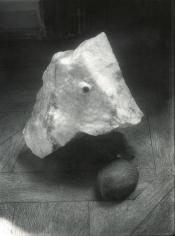 Eye on Stone, c. 1950, Gelatin silver print, printed c. 1950