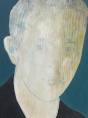 Max Neumann - Untitled, June, 2018 Oil on wood   Bruce Silverstein Gallery