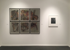 Frieze Masters 2017 :  Man Ray, Henry Moore, Aaron Siskind, Frederick Sommer, Constantin Brâncuși  | installation image | Bruce Silverstein Gallery