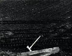 Axe, c. 1950, Gelatin silver print mounted to board, printed c. 1950