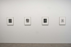Frederick Sommer : Glue Drawings | installation image 2015 | Bruce Silverstein Gallery