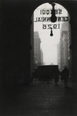 E. O. Hoppé - Philadelphia, Pennsylvania, 1926 Gelatin silver print, printed c. 1926   Bruce Silverstein Gallery