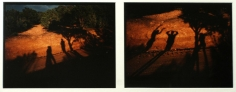 Eve Sonneman - Shadows, Sante Fe, New Mexico, 1978 | Bruce Silverstein Gallery