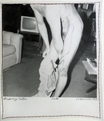 Keith Smith, Temporary Tattoo, 1978