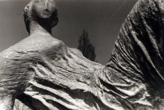 Henry Moore | Detail of Draped Reclining Figure, 1953 | Bruce Silverstein Gallery
