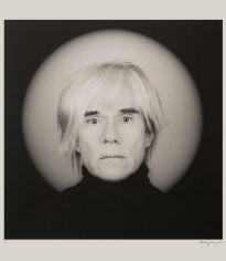 Robert Mapplethorpe - Andy Warhol, 1986 Gelatin silver print | Bruce Silverstein Gallery