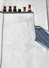 Michael Wolf - Paris Rooftops #15, 2014 Digital C-Print 56 x 40 inches ; Bruce Silverstein Gallery