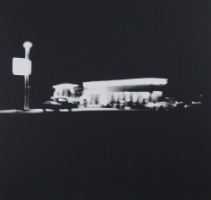 Untitled from Gasoline Stations, 1962, Gelatin silver print, printed c. 1989