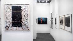 The Armory Show 2018 : Louise Nevelson, Marjan Teeuwen, Ed Ruscha, Todd Hido, Trine Sondergaard, Penelope Umbrico | installation image | Bruce Silverstein Gallery
