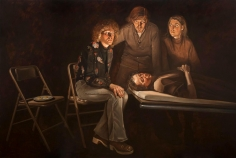 Alfred Leslie - A Death in the Family, 1976  | Frieze New York 2017 | Bruce Silverstein Gallery