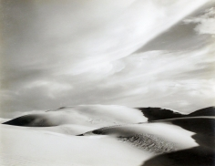 Edward Weston- Dunes, Oceano, 1936 Gelatin silver print mounted to board, printed c. 1951-52 | Bruce Silverstein Gallery