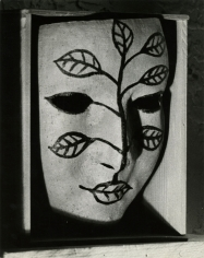 Man Ray -  Masque Peinte (Painted Mask), 1941  | Bruce Silverstein Gallery