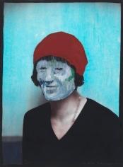 Max Neumann - Untitled, November 28, 2011Oil on photograph   Bruce Silverstein Gallery