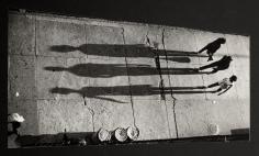 Adger Cowans ; Three Shadows, 1968 ; Bruce Silverstein Gallery