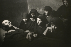 Spanish Village, Spanish Wake, 1951, 	Gelatin silver print mounted to board, printed c. 1951.