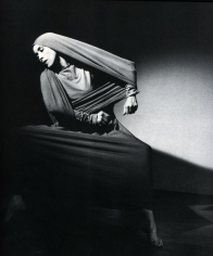 Martha Graham, Lamentation (oblique), 1935, Gelatin silver print, printed c. 1935. 10 x 10 1/2 inches