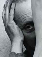 Arnold Newman - Jean Arp, c. 1949-55 | Bruce Silverstein Gallery