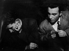 Lisette Model - Nick's Nightclub, 1940-44 Gelatin silver print. 10 1/4 x 13 3/8 inches ; Bruce Silverstein Gallery