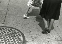 Rudolph Burckhardt - Sidewalk, III,1940  | Bruce Silverstein Gallery