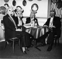 Rosalind Fox Solomon - Foxes Masquerade, 1993 Gelatin silver print   Bruce Silverstein Gallery