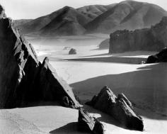 Brett Weston - Garapata Beach, California, 1954 Gelatin silver print mounted to board, printed c. 1954 | Bruce Silverstein Gallery