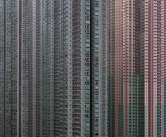 Michael Wolf - Architecture of Density #43, 2006 Chromogenic print ; Bruce Silverstein Gallery