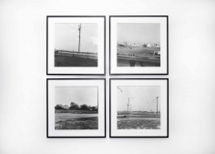 Vacant Lots, 1970-2003, Suite of 4 Gelatin silver prints