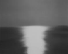 Bay of Sagami, Atami, 1997, Gelatin silver print