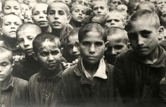 David Seymour - The Post War Years: The Children- Boys in a War Orphanage in Naples, Italy,1948 | Bruce Silverstein Gallery