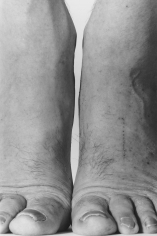 Feet Frontal, 1984, 	Gelatin silver print mounted to board, printed c. 1999