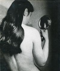 Bill Brandt - Nude with Mirror through Gauze, c. 1930 Gelatin silver print, printed c. 1930 | Bruce Silverstein Gallery