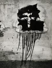 Graffiti - Cross of Lorraine, 1945 Ferrotyped gelatin silver print, printed c. 1945 11 11/16 x 8 7/8 inches