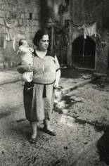 David Seymour - Naples Mother, Italy, 1950 | Bruce Silverstein Gallery