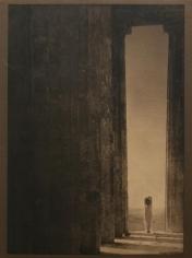 Edward Steichen, Isadora Duncan - Columns of the Parthenon, 1921