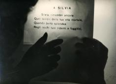 Mario Giacomelli - A Silvia, 1987-88   Bruce Silverstein Gallery