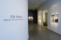 Zoe Strauss | America : We Love Having You Here | installation image 2008 | Bruce Silverstein Gallery