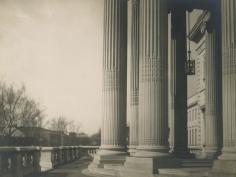 E. O. Hoppé - Columns, Washington D.C., 1926 Gelatin silver print, printed c. 1926   Bruce Silverstein Gallery