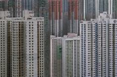 Michael Wolf - Architecture of Density #45, 2005 Chromogenic print ; Bruce Silverstein Gallery