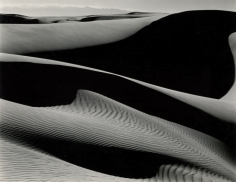 Edward Weston- Dunes, Oceano, California, 1936 Gelatin silver print, printed c. 1936   Bruce Silverstein Gallery