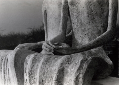 Detail of Two Seated Figures (King & Queen), 1953, 	Gelatin silver print, printed c. 1953