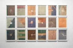 Mishka Henner -  Eighteen Pumpjacks, 2013  | PHOTOFAIRS San Francisco 2018 | Bruce Silverstein Gallery