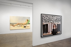 Alfred Leslie : The Toast is Burning | installation image 2016 | Bruce Silverstein Gallery
