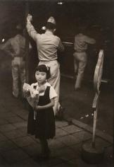Werner Bischof - On the Ginza, Tokyo, Japan, 1951 Gelatin silver print mounted to board | Bruce Silverstein Gallery