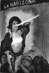 Hugo Crosthwaite Carpas Study, #11  (La Narizona), 2013 Ink, ink wash and graphite on Canson paper 8.5 x 5.5 in.