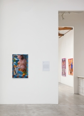 Installation View ofUnreachable Spring: Laura Krifka and Peter Williams (rear)