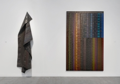 Installation View of June Edmonds at The Armory Show (Pier 94, Booth 827).