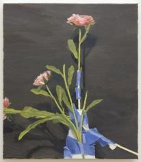 Roger White Silk Flowers (Second Version), 2016